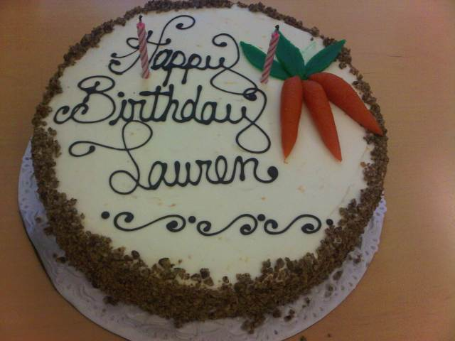 Birthday Cake from my office!!